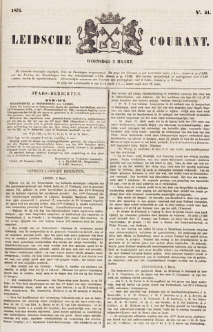 Leydse Courant 1875-03-03