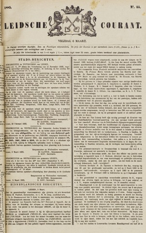 Leydse Courant 1885-03-06