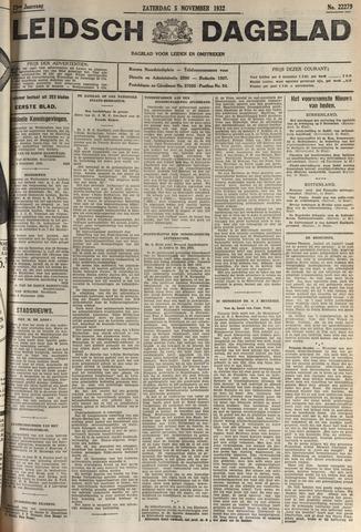 Leidsch Dagblad 1932-11-05