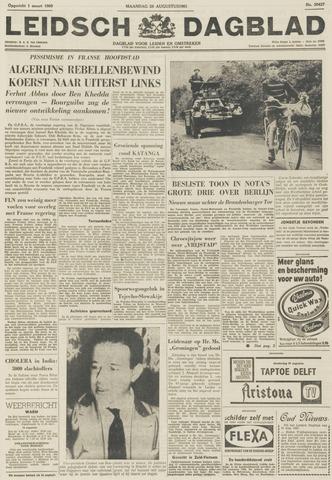 Leidsch Dagblad 1961-08-28