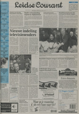 Leidse Courant 1992-04-18