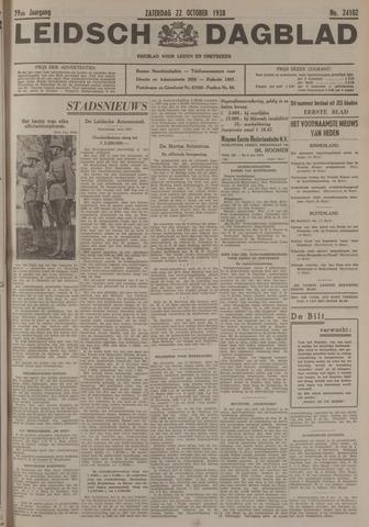 Leidsch Dagblad 1938-10-22