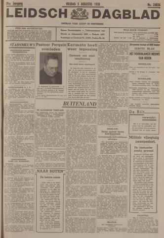 Leidsch Dagblad 1938-08-05