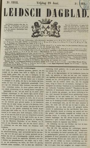 Leidsch Dagblad 1866-06-29