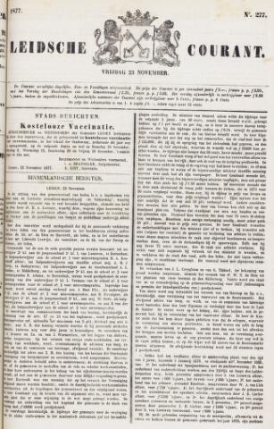 Leydse Courant 1877-11-23