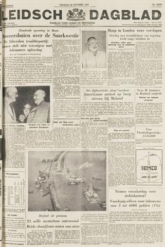 Leidsch Dagblad 1954-10-29
