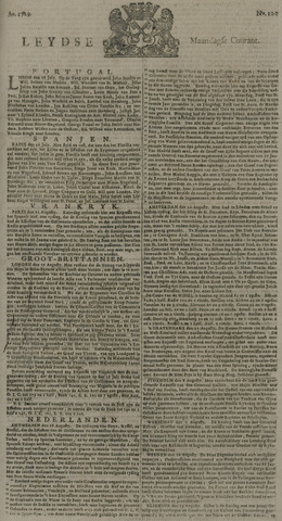 Leydse Courant 1729-08-22