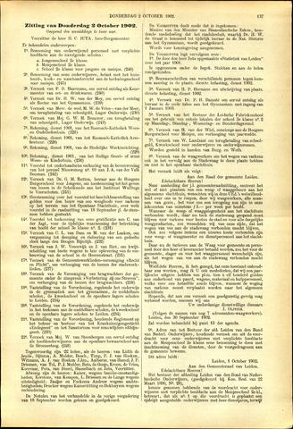 Handelingen van de Raad 1902-10-02