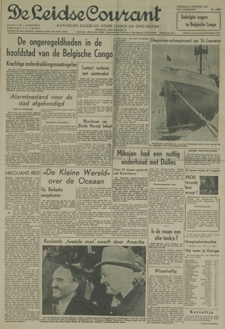 Leidse Courant 1959-01-06