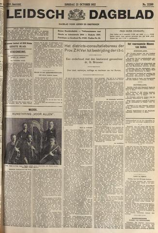 Leidsch Dagblad 1932-10-25