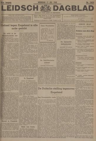 Leidsch Dagblad 1940-07-17
