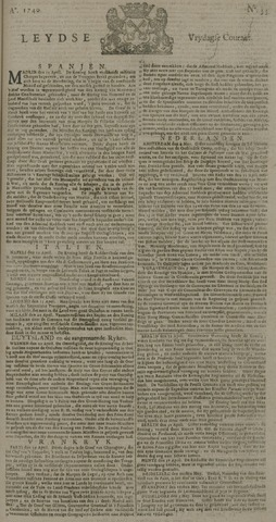 Leydse Courant 1740-05-06