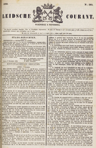 Leydse Courant 1882-11-08