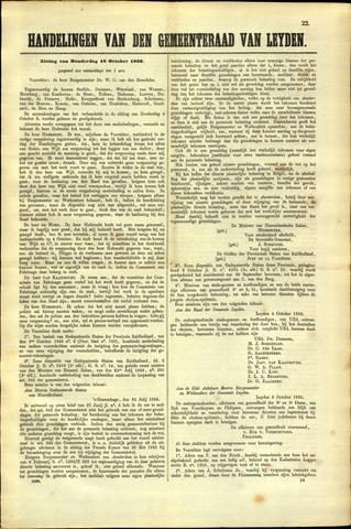 Handelingen van de Raad 1866-10-18