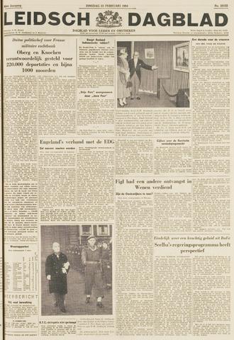 Leidsch Dagblad 1954-02-23