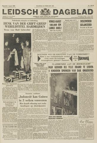 Leidsch Dagblad 1961-02-20