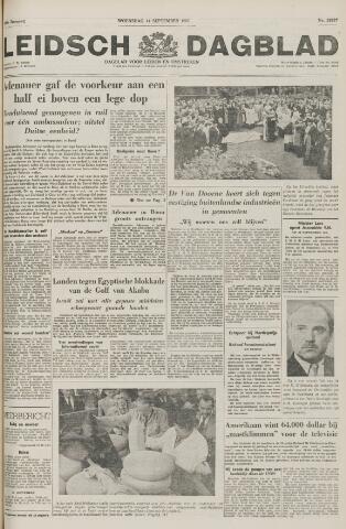 Leidsch Dagblad 1955-09-14