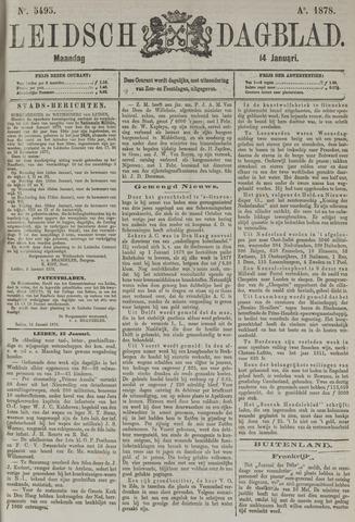 Leidsch Dagblad 1878-01-14