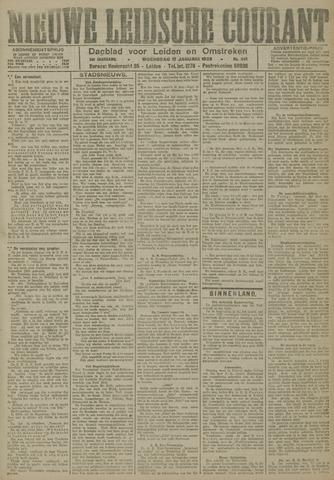Nieuwe Leidsche Courant 1923-01-17