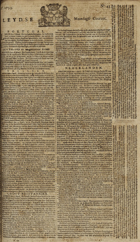 Leydse Courant 1753-04-09