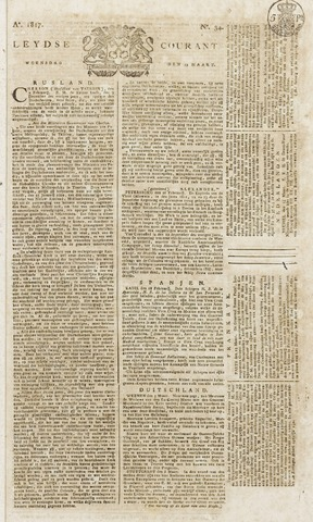 Leydse Courant 1817-03-19