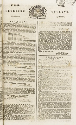 Leydse Courant 1844-03-25