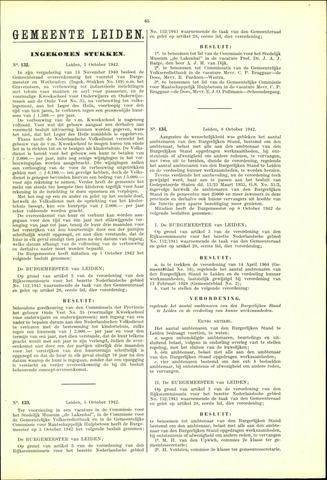 Handelingen van de Raad 1942-10-01