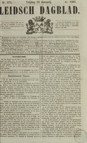 Leidsch Dagblad 1861-01-18