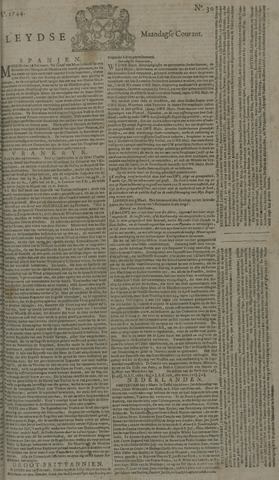 Leydse Courant 1744-03-09