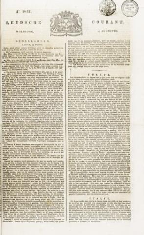 Leydse Courant 1841-08-25
