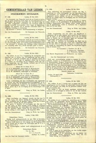 Handelingen van de Raad 1913-05-21