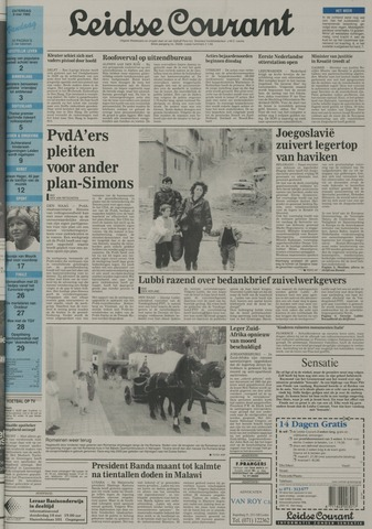 Leidse Courant 1992-05-09