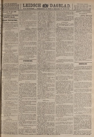 Leidsch Dagblad 1920-04-28