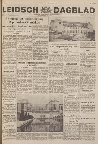 Leidsch Dagblad 1951-08-14