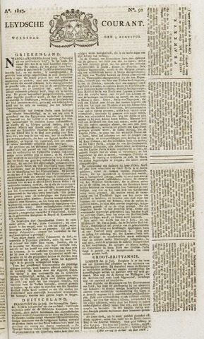 Leydse Courant 1825-08-03