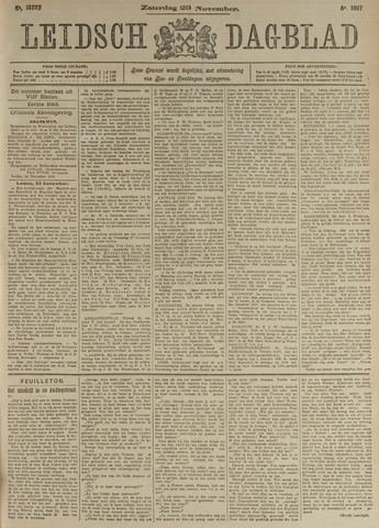 Leidsch Dagblad 1907-11-23