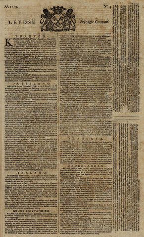 Leydse Courant 1779-01-08