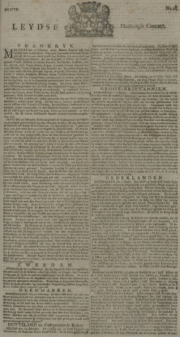 Leydse Courant 1729-03-07