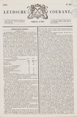 Leydse Courant 1855-05-18