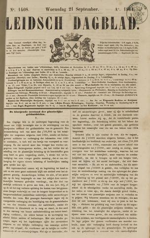 Leidsch Dagblad 1864-09-21