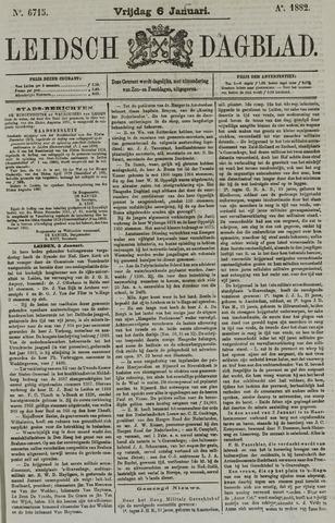 Leidsch Dagblad 1882-01-06