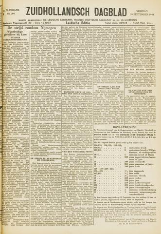Zuidhollandsch Dagblad 1944-09-29