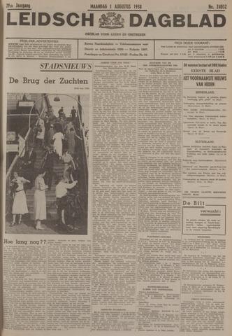 Leidsch Dagblad 1938-08-01