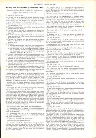 Handelingen van de Raad 1907-02-07
