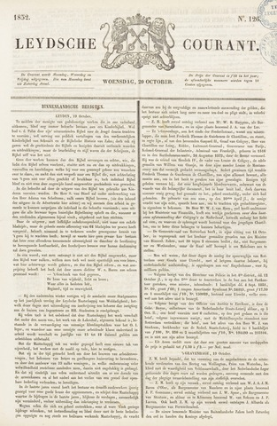 Leydse Courant 1852-10-20