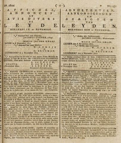 Leydse Courant 1812-11-11