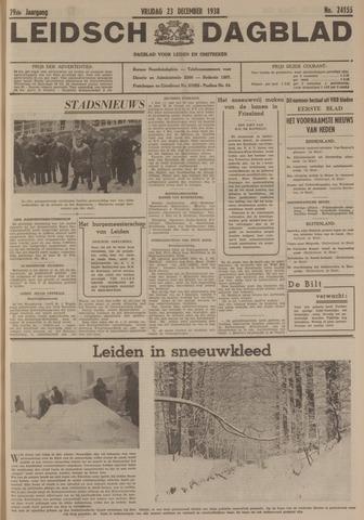 Leidsch Dagblad 1938-12-23