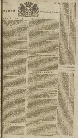 Leydse Courant 1773-05-26