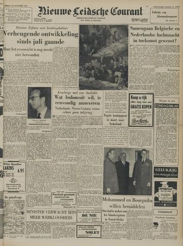 Nieuwe Leidsche Courant 1957-11-22