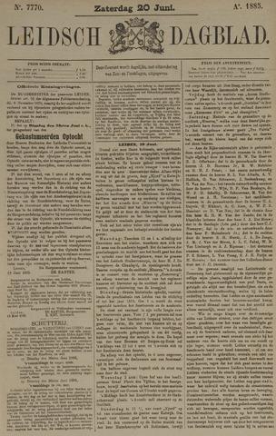 Leidsch Dagblad 1885-06-20